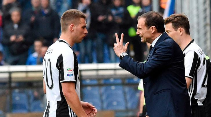 Allegri applaude la Juventus:«Un altro pezzo di scudetto. Higuain e Dybala? Niente di preoccupante»