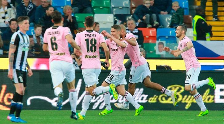 Serie A Palermo, allenamento in gruppo per Stefan Silva