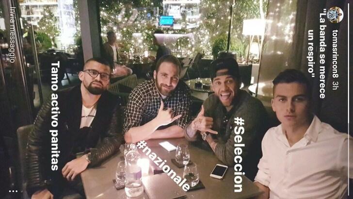 Rincon, Higuain, Dani Alves e Dybala in Nazionale. «La banda merita un attimo di respiro»