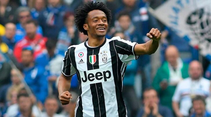 Juventus, Cuadrado spietato: tre gol, nove punti
