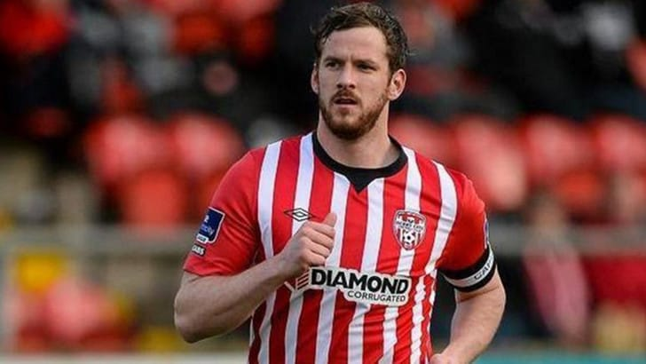 Tragedia in Irlanda, morto il capitano del Derry City Ryan McBride