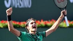 Tennis: Federer vince ancora, un altro Slam si gioca a 5,00
