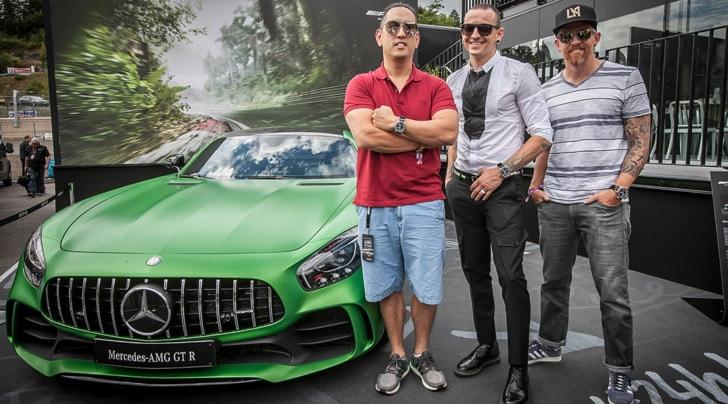 Mercedes AMG GT protagonista del nuovo singolo dei Linkin Park