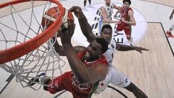 Basket Eurolega, Milano al 20° ko