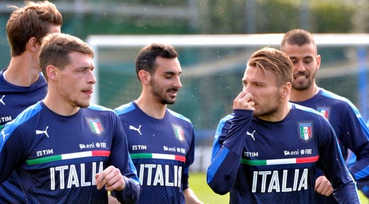 Immobile spinge l'Italia:«Io e Belotti coppia Mondiale»