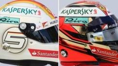 F1, i caschi dei 20 piloti. Qual è il vostro preferito?