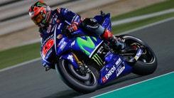 MotoGp, Qatar: Viñales vola a 2,50, Rossi a 7,00