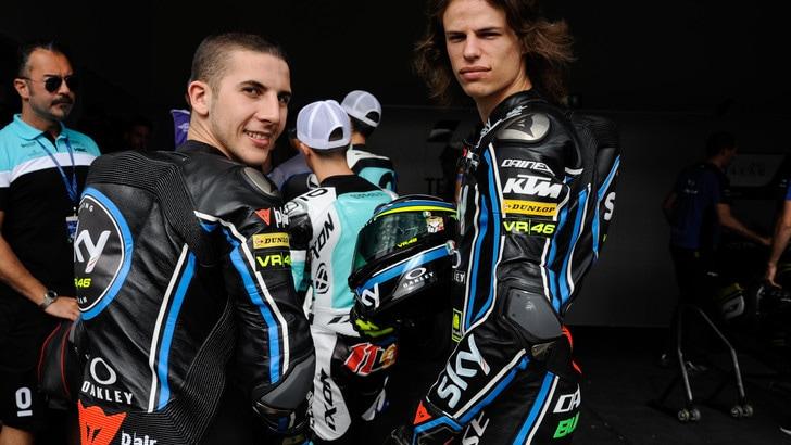 Motomondiale Usa, Sky Team: in Moto3 seconda fila per Bulega