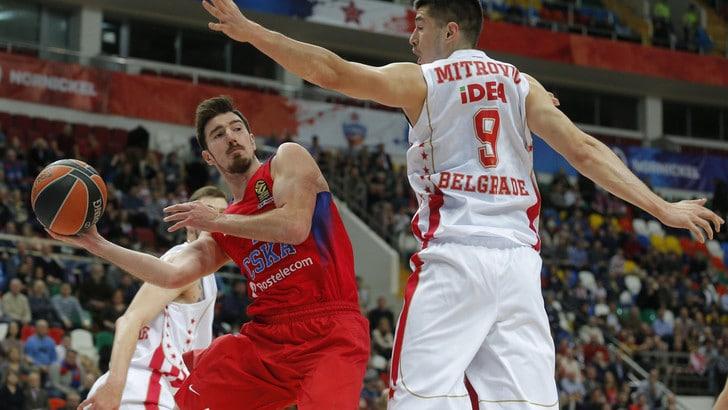 Eurolega, il CSKA batte Kazan e torna in testa da solo