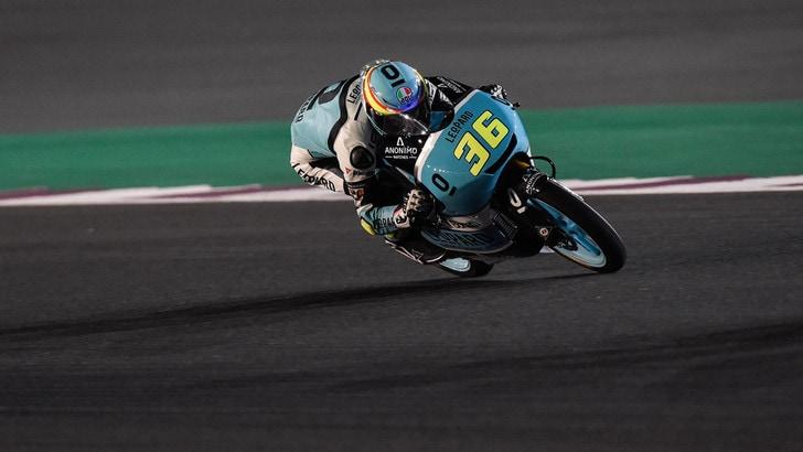 Moto3 Qatar, il warm up è di Mir