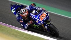 MotoGp Qatar, Viñales: «All'inizio ero nervoso»