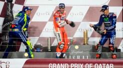 MotoGp Qatar, Rossi: «Mi sono divertito»