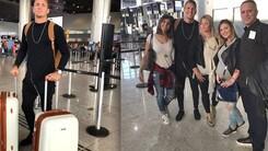 Torino, ecco Lyanco... in gruppo. All'aeroporto con tutta la famiglia