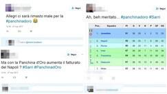 Panchina d'oro a Sarri e Allegri secondo, quanta ironia sul web!