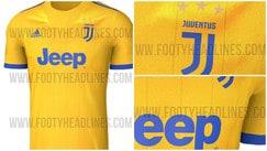 Juventus, ecco come sarà la seconda maglia con il nuovo logo