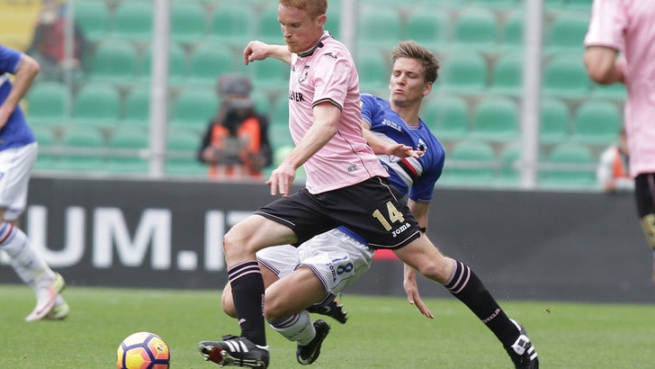 Serie A Palermo, Gazzi lavora in parte assieme al gruppo