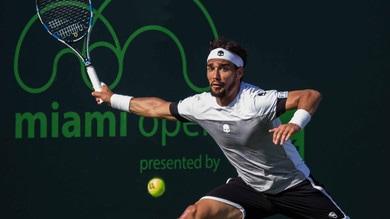Tennis, Miami Open: Fognini, a 3,30 la prima vittoria su Nishikori