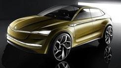Skoda Vision E, elettrica e a guida autonoma