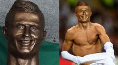 """Ronaldo inaugura il """"suo"""" aeroporto. Ma la statua..."""