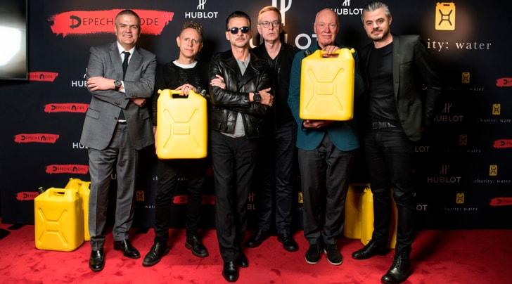 Hublot in tour con i Depeche Mode a favore di charity: water