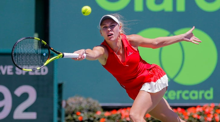 Masters 1000 Miami: Wozniacki è la prima finalista