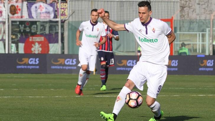 Serie A Fiorentina, Kalinic: gli accertamenti escludono lesioni