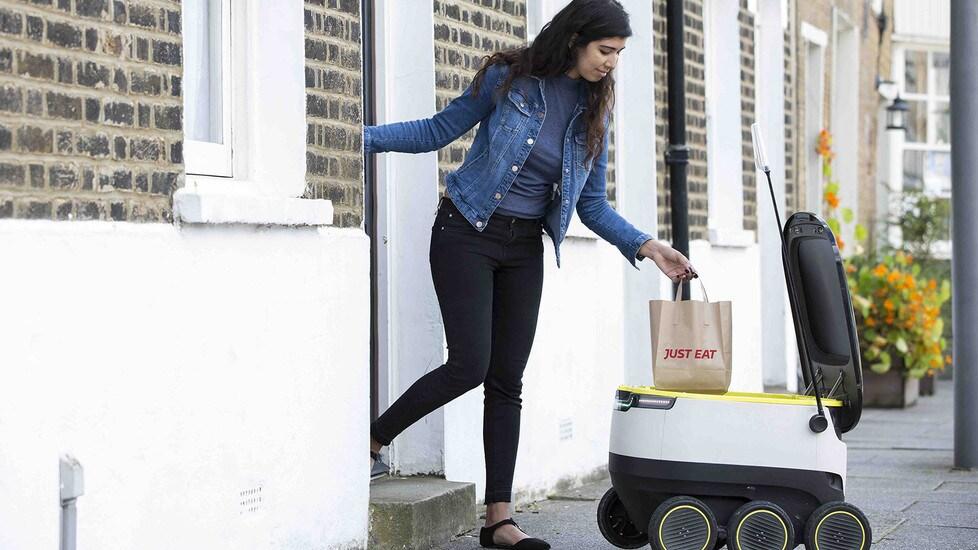 Stop a furgoni e scooter, il futuro delle consegne è coi robot