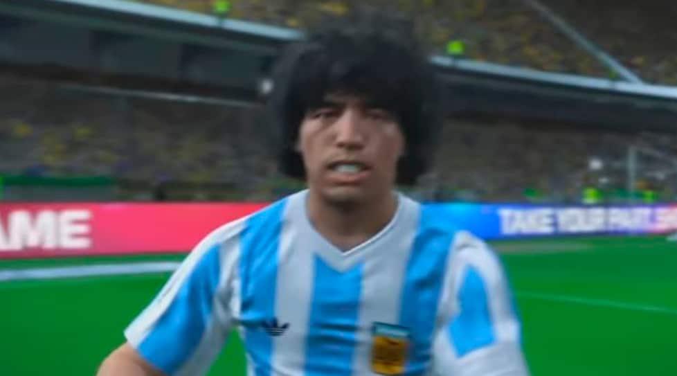 In PES 2017 ... cheapest 51520 d16ed Soccer icon Maradona threatens to sue  Konami for ... a4f2bd2027930
