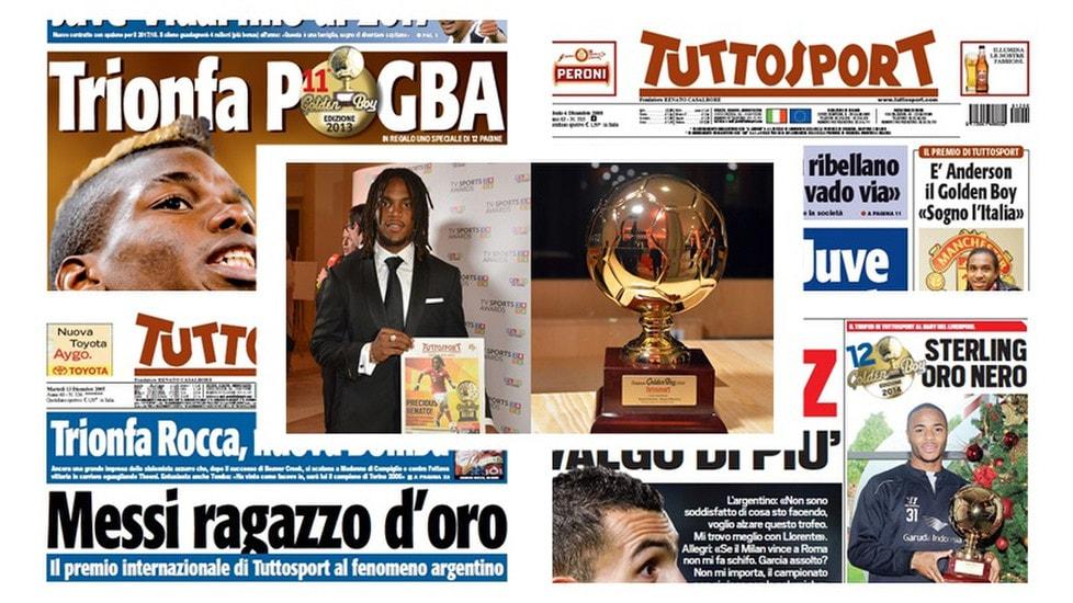 Dal 2003, il palmares dei vincitori del premio al miglior giovane talento europeo