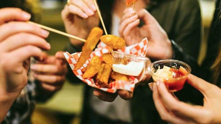Mangia e Vinci, street food al Palavela