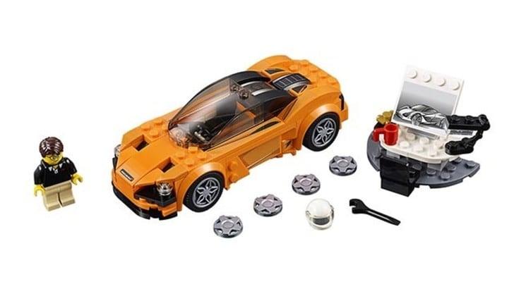 Lego presenta la McLaren 720S