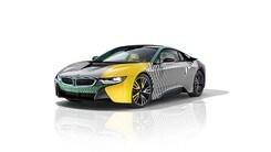 BMW i3 e i8, Lapo Elkann si ispira al Memphis Design