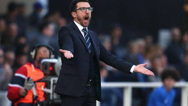 Calciomercato Sassuolo, Di Francesco: «La Roma non mi ha contattato»