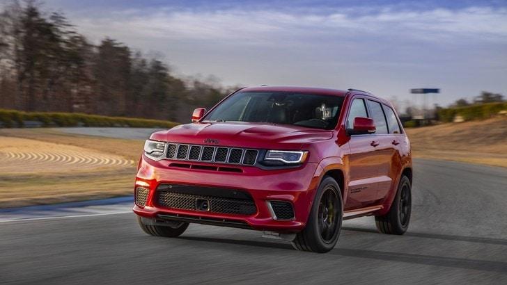 Jeep Grand Cherokee Trackhawk, nessun SUV può resisterle