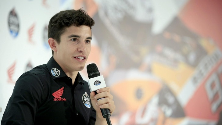 MotoGp, sentite Marquez: «Barça-Juve? Credo alla remuntada»