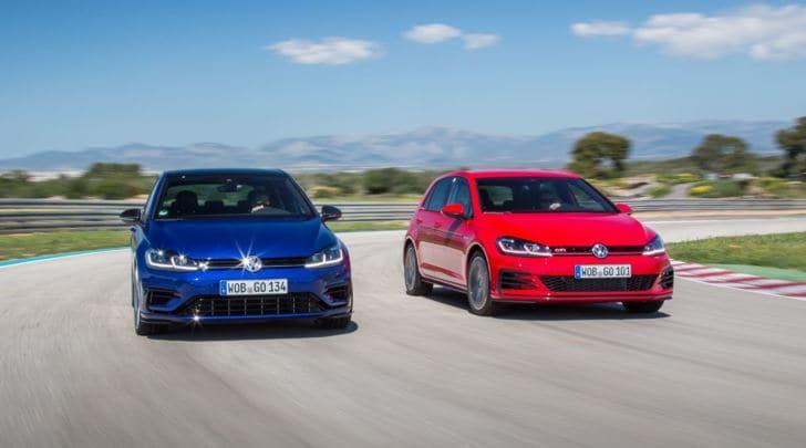 Volkswagen, pieno di Watt e di cavalli per le nuove Golf