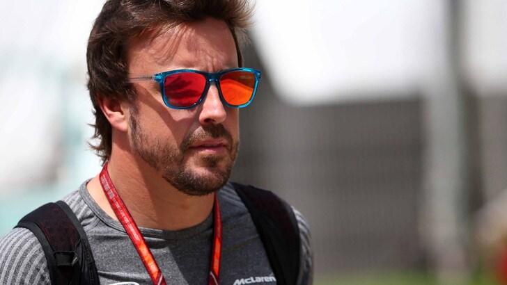F1, per Alonso test a Indy il 3 maggio