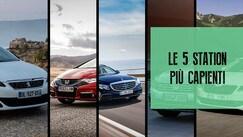 Le 5 auto famigliari più capienti sul mercato