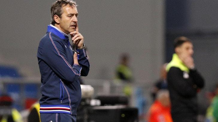 Serie A Sampdoria, Giampaolo: «Perdere fa male, occasione sprecata»