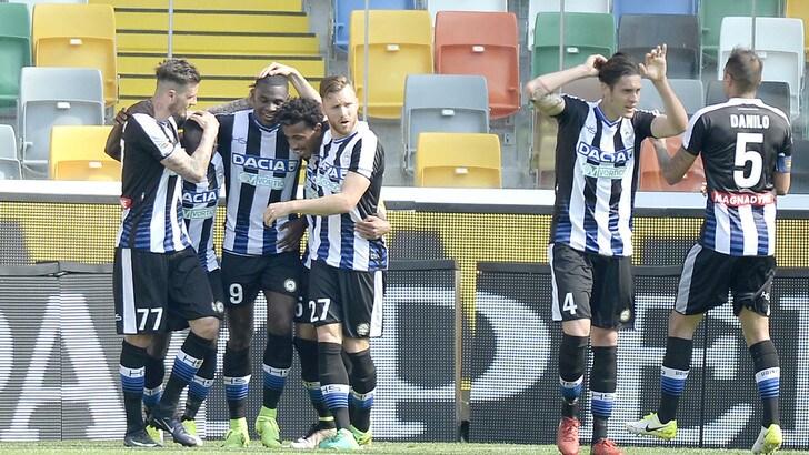 Serie A Udinese, giovedì amichevole col Belluno