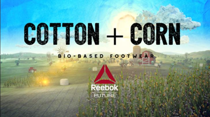 Reebok sceglie la sostenibilità ambientale