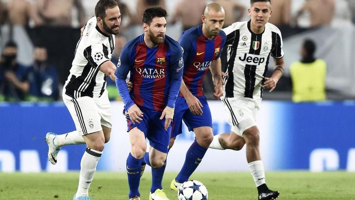 Champions, Barcellona-Juve: in quota il pericolo è Messi