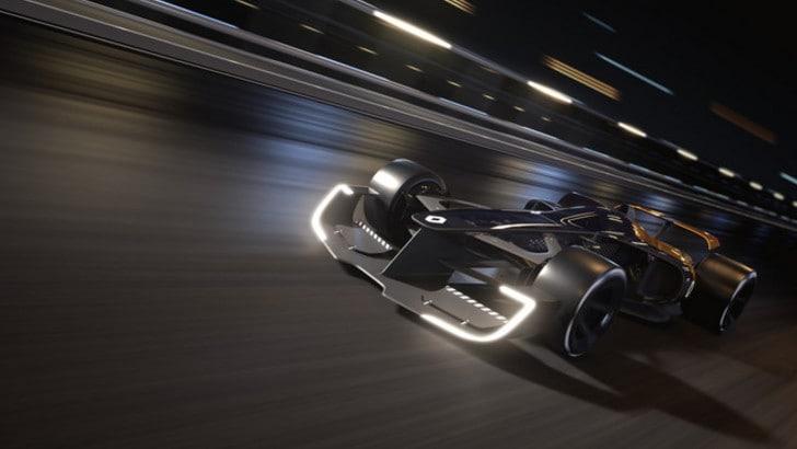 La Renault mostra la sua concept car F1 2027