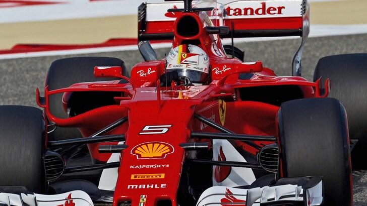 F1, test Bahrain: Vettel chiude secondo, Bottas il migliore