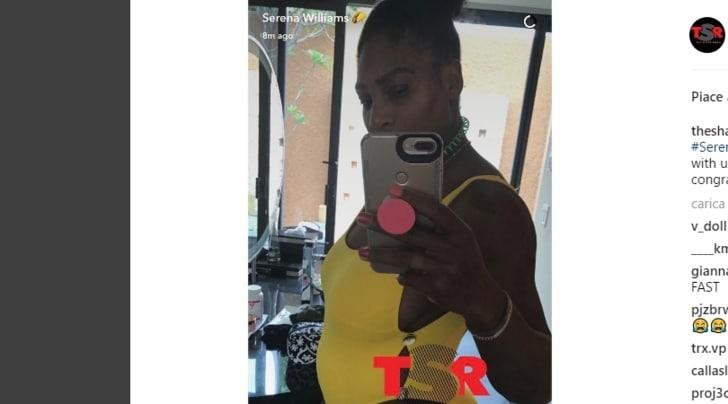 Serena Williams incinta: «Mi fermo per il resto della stagione»