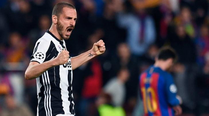 Juventus, Bonucci: «Chiellini? Era solo un cazzotto per caricarmi»
