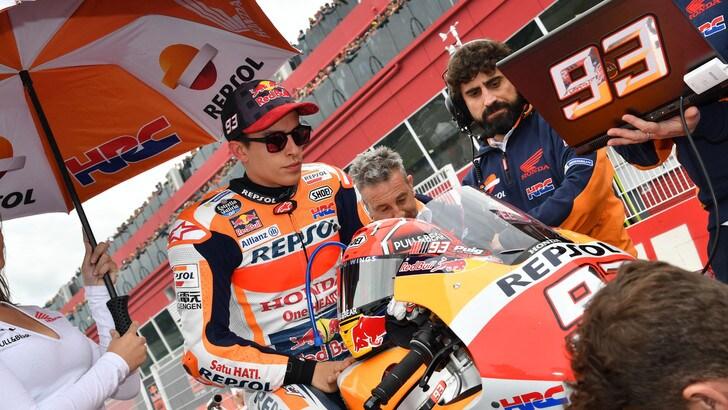 MotoGp Usa, Marquez: «Arriveremo al livello delle Yamaha»