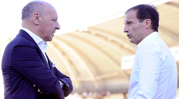 Juventus, l'orchestra di Marotta e Allegri
