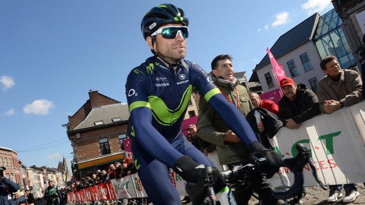 Liegi: vince Valverde, lacrime e dedica a Scarponi
