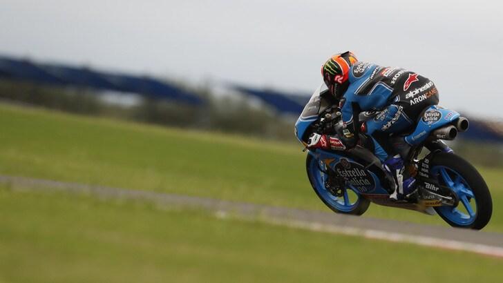 Moto3 Usa: pole con distacco per Canet, Fenati terzo